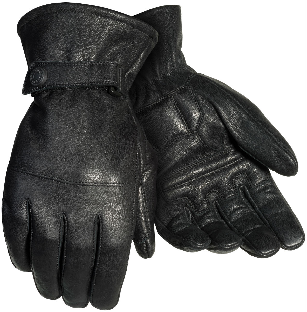 Tourmaster Midweight 2.0 Mens Leather Gloves Black