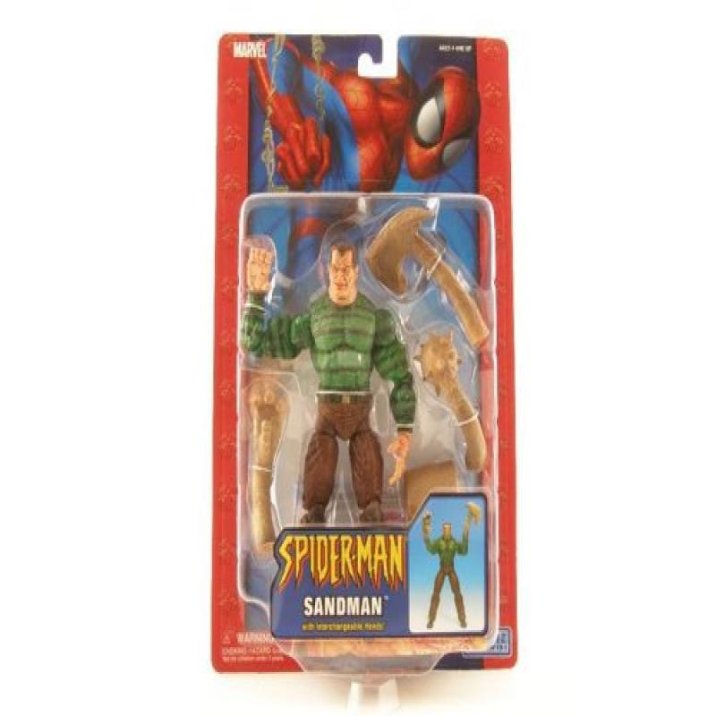Toy Biz The Amazing Spider-Man Action Figure Sandman with...