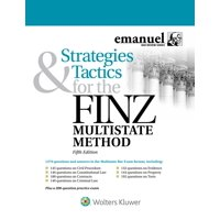Emanuel Bar Review: Strategies and Tactics for the FINZ Multistate Method (Paperback)