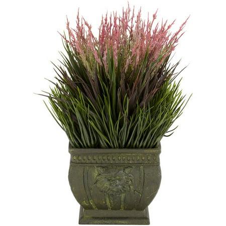 Mixed Grass Indoor/Outdoor Silk Plant