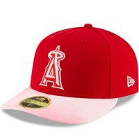Los Angeles Angels New Era 2019 Mother's Day On-Field Low Profile 59FIFTY Fitted Hat - Red/Pink