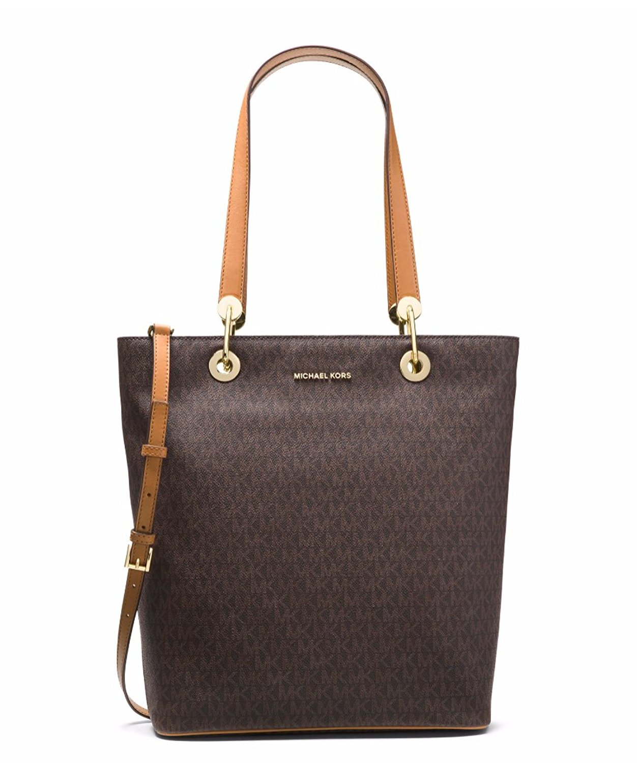 Raven Large North South Tote - Brown - 30S7GRXT3V-200