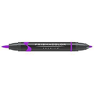Mulberry Markers - SANFORD / PRISMACOLOR 1773186 PRISMACOLOR BRUSH/FINE TIP MARKER MULBERRY  PB53