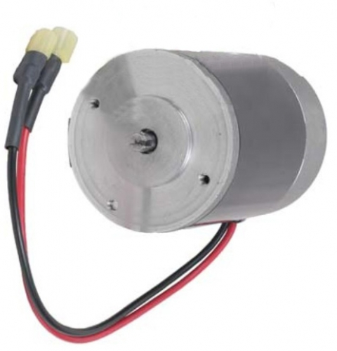 "Salt Spreader Motor Fits Curtis & Snow-X Salt Spreaders 2.5mm Slot, 6"" Long"