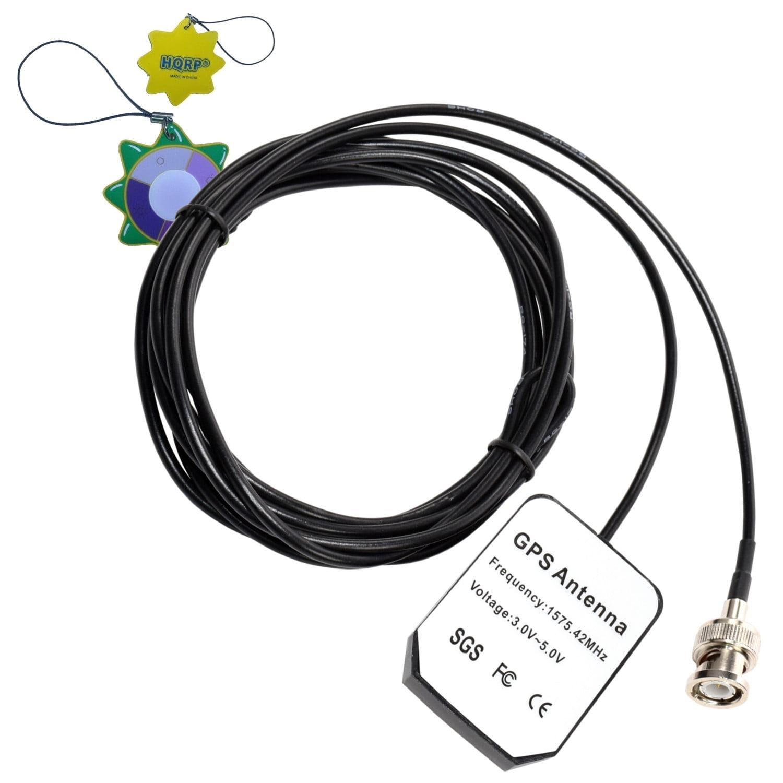 HQRP GPS Antenna for Garmin GPS II, II+, III, III Pilot, III+, V, StreetPilot III Deluxe + HQRP UV Meter