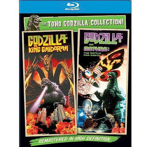 Godzilla Vs. King Ghidorah / Godzilla Vs. Mothra (Blu-ray) (With INSTAWATCH) (Anamorphic Widescreen)
