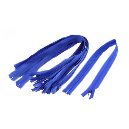 Dress Pants Closed End Nylon Zippers Tailor Sewing Craft Tool Blue 50cm 10 Pcs - image 2 of 2