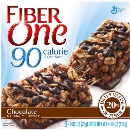 Fiber One  90 Calorie Bar Chocolate 5   0 82 Oz Bars