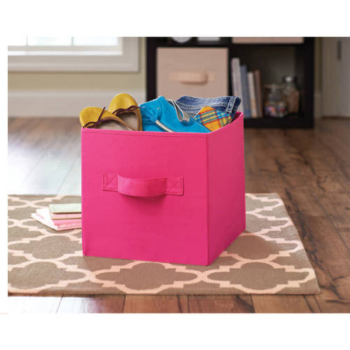 Beau Better Homes And Gardens Collapsible Fabric Storage Cube, Set Of 2,  Multiple Colors