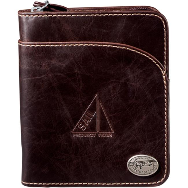 Leeds 4750-10 Spirit of St Louis Venturer Wallet - Brown