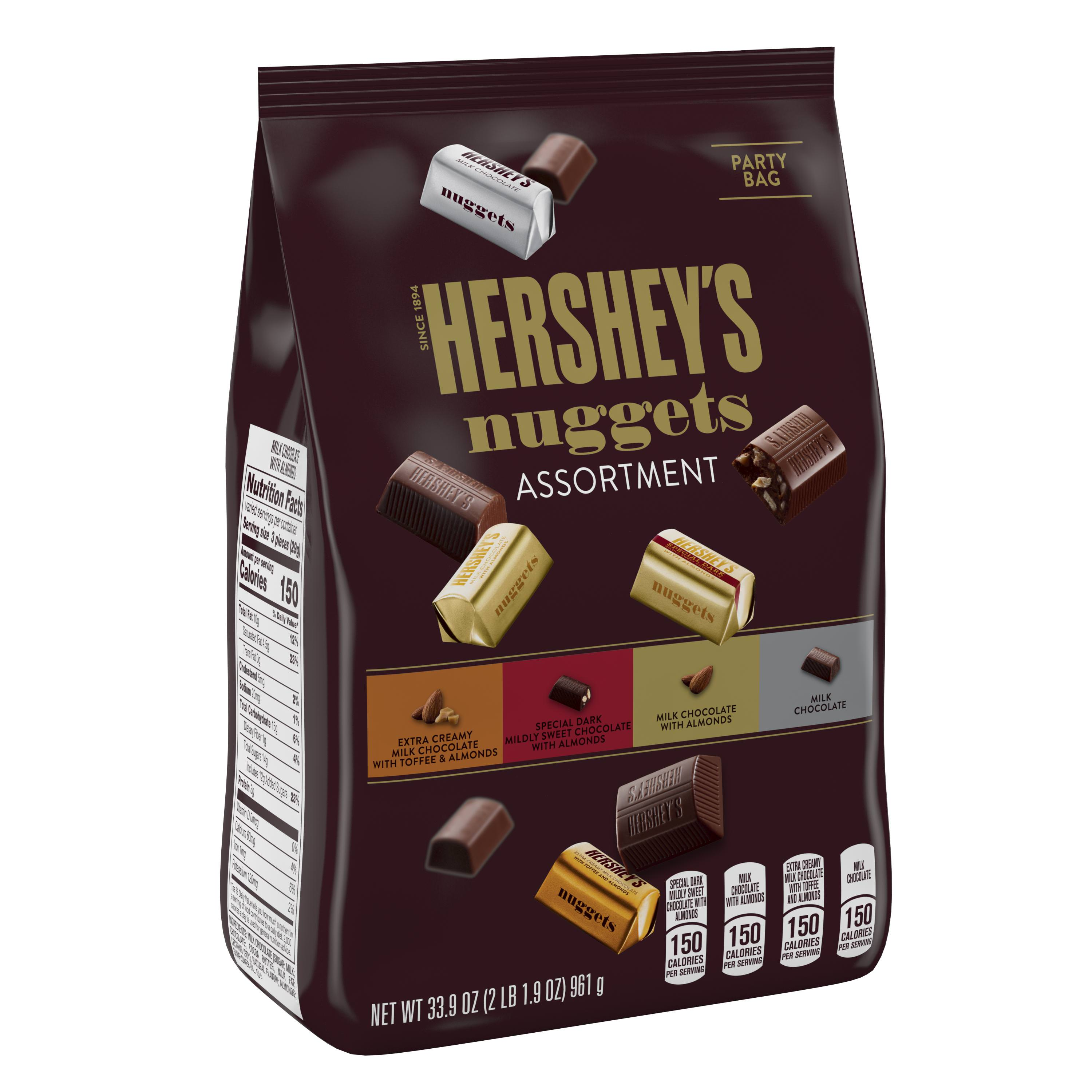 Hershey's Nuggets, Chocolate Candy Assortment, 33.9 Oz