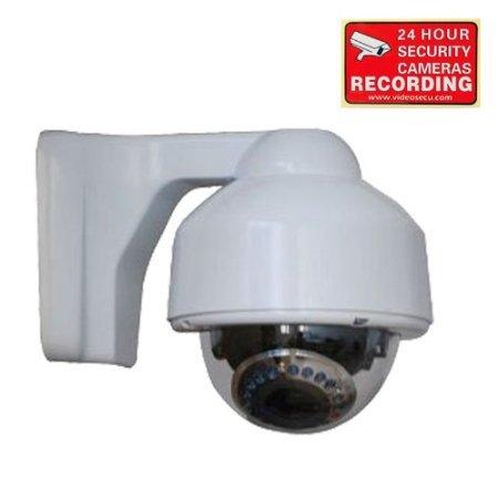 VideoSecu Weatherproof IR Night Vision 700TVL High Resolution Security Camera 1/3