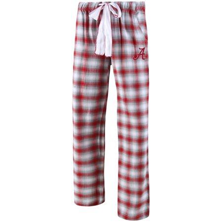 Alabama Pants (Alabama Crimson Tide Concepts Sport Women's Plus Size Forge Flannel Pants - Crimson/Gray)