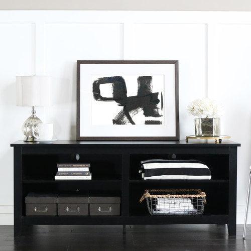 Home Loft Concepts Wood Tv Stand Walmart Com
