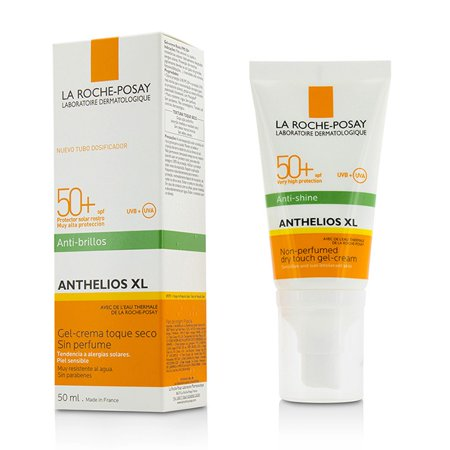 Laroche Posay Sun Protection Cream - La Roche Posay Anthelios XL Non-Perfumed Dry Touch Gel-Cream SPF50+ - Anti-Shine