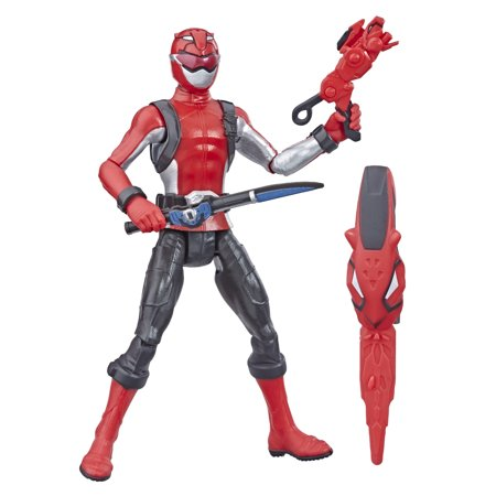 Power Rangers Beast Morphers Red Ranger 6-inch Action - Baby Morpher