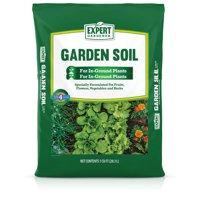 Expert Gardener Garden Soil for In-Ground Plants, 1 Cu. ft., Feeds Plants for up to 4 Months