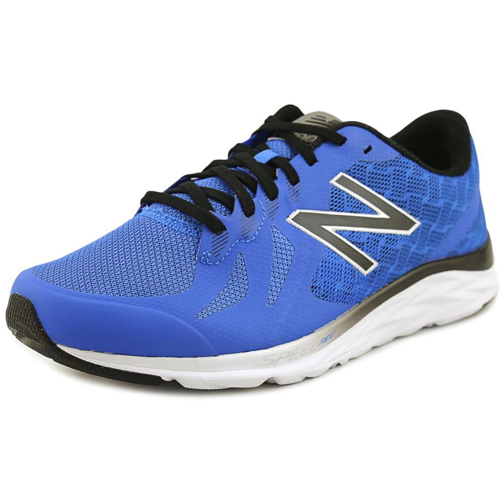 New Balance Men's M790V6 Running Shoe, Electric Blue/Black/Hi Lite, 10.5 4E US