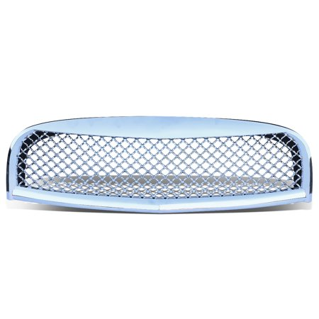 For 2006 to 2011 Chevy HHR ABS Plastic Mesh Style Front Bumper Grille (Chrome) - Non SS GMT001 GM Delta 07 08 09