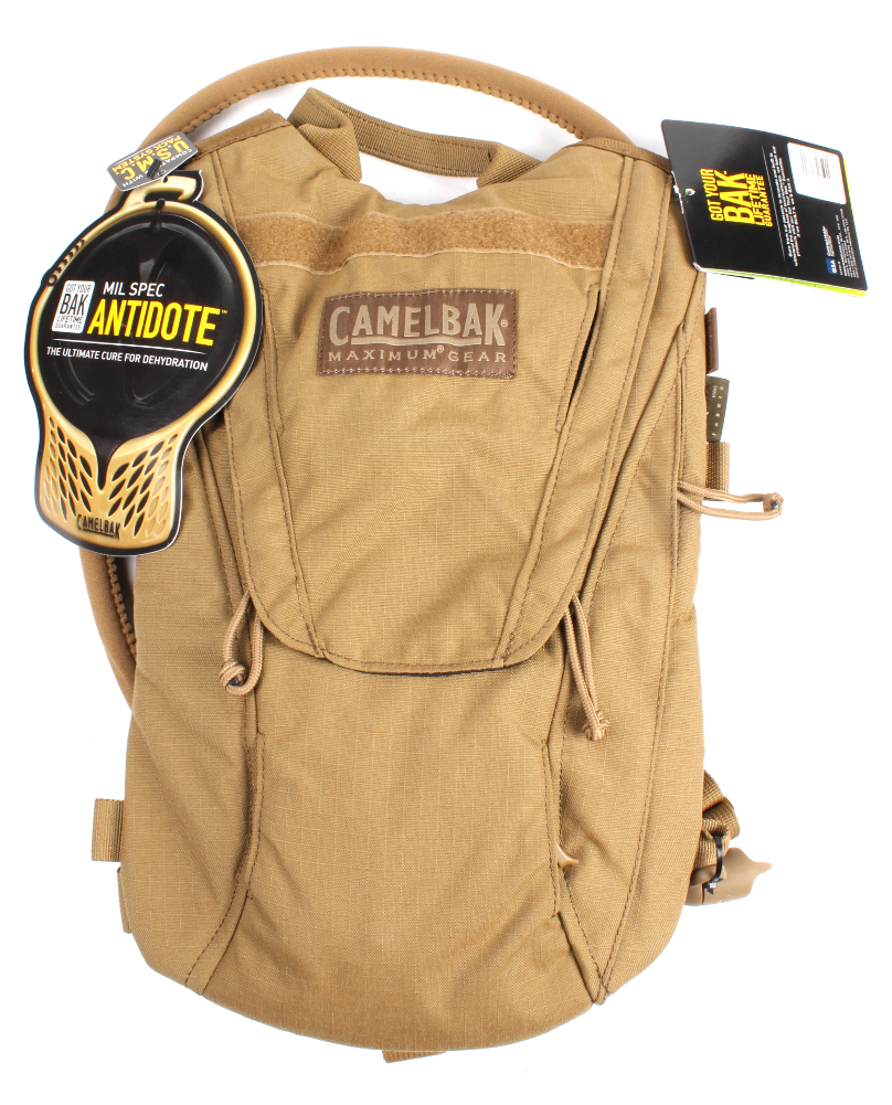 Camelbak ThermoBak 62610 100oz 3L Hydration Backpack w Mil Spec Antidote Coyote by CamelBak