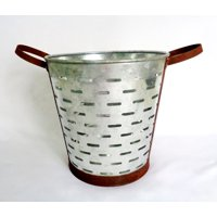 Way To Celebrate Harvest Metal Bucket