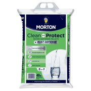 Morton Clean and Protect Plus Rust Defense Water Softener Salt Pellets, 40 lb. Bag