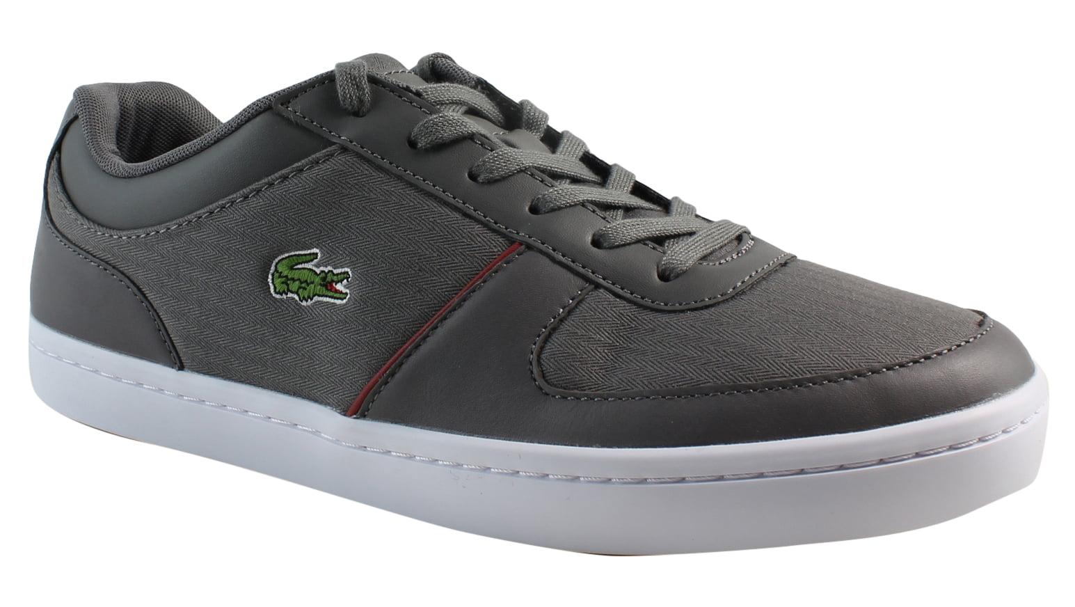 New Lacoste Womens Gripton Gray Fashion Shoes Size 9.5