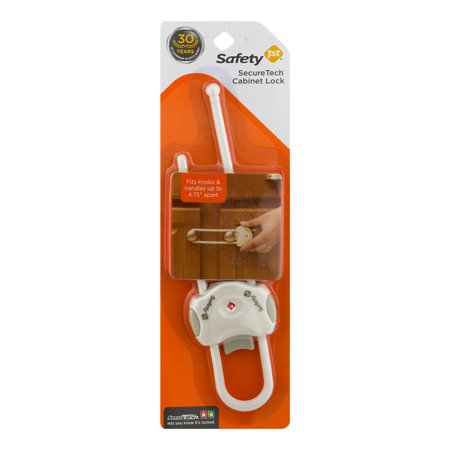 Safety 1st SecureTech Cabinet Lock, 1.0 CT
