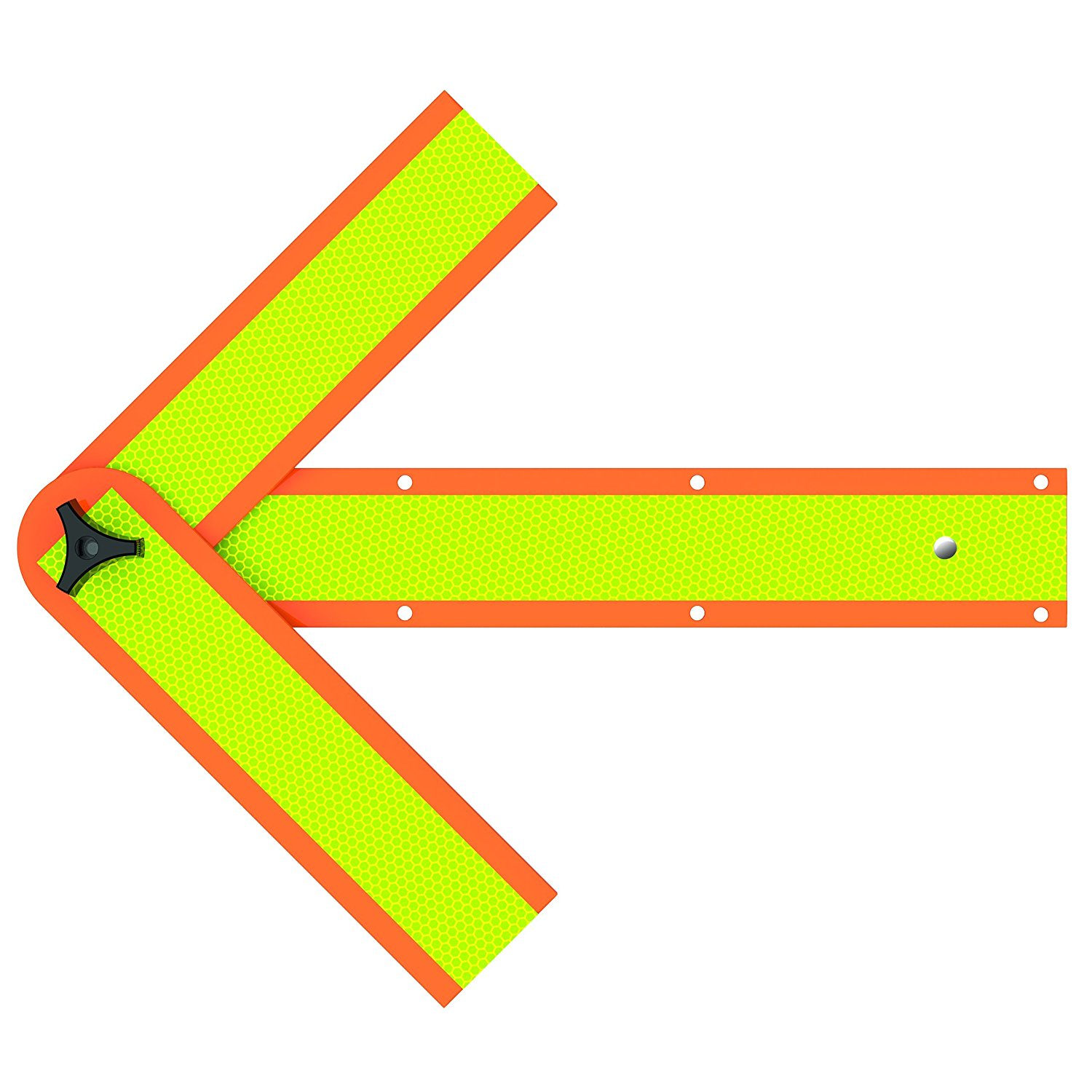 """Roadside Emergency Reflective Safety Arrow, Magnetic and Mountable, 18"""" (SA-2034C), Highly reflective, ultra bright emergency arrow helps avoid a potential accident or.., By Deflecto Ship from US"""