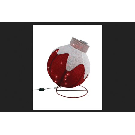 Sylvania Illuminet Ornament LED Yard Art Mesh 1 pk Red ()