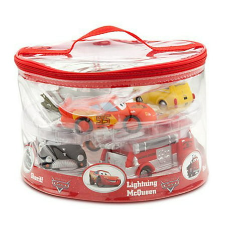 Disney Parks Exclusive Deluxe Cars 6 Piece Squeeze Toy (Disney Toy Train)