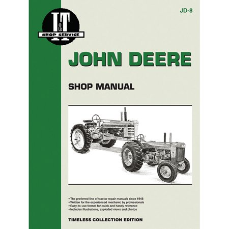 Service Manual For John Deere 70 Tractor Jd-8 on