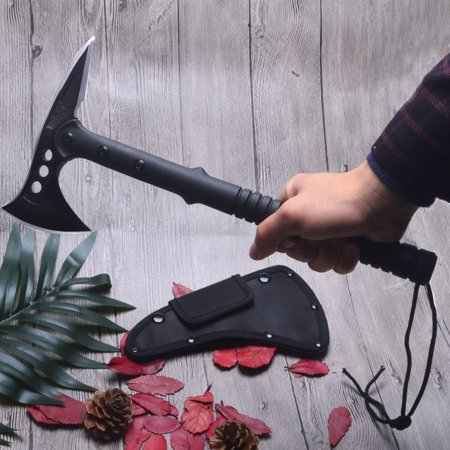 Outdoor Tactical Tomahawk Axe Carbon Stainless Steel Outdoor Survival Hatchet Hammer Ax Camping Hiking Tools