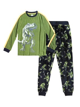 Wonder Nation Boy's 2 Piece Pajama Sleep Set
