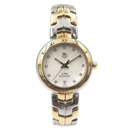 Pre-Owned TAG Heuer Link Steel Gold Two Tone Swiss Automatic Ladies Watch WAT2350.BB0957
