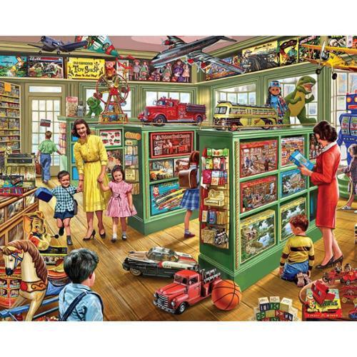 White Mountain Toy Store Jigsaw Puzzle