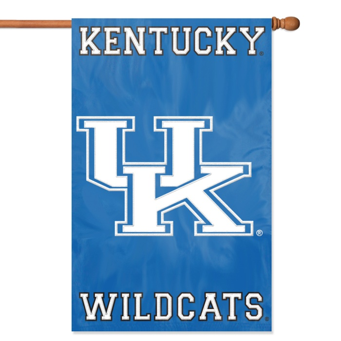 "KENTUCKY WILDCATS 44""x28"" 2-SIDED BANNER FLAG"