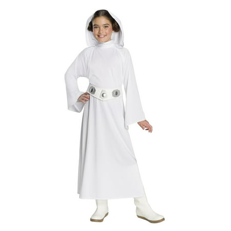 Star Wars Forces Of Destiny Deluxe Princess leia Girls Halloween Costume - Princess Leia Han Solo Costumes