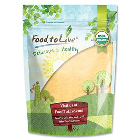 Food To Live certifié racine de maca en poudre biologique (non-OGM, Terre Crue Racine de maca, la farine, en vrac) (4 Onces)