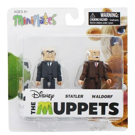 Muppets Statler & Waldorf 2-Pack Series 2 (Waldorf Wood Toy)