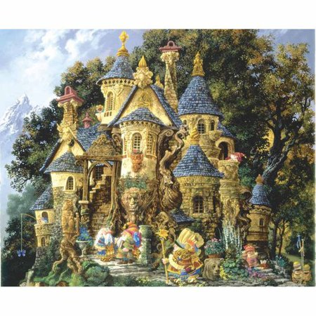 College of Magical Knowledge Jigsaw Puzzle