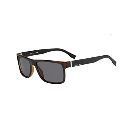 Boss hub Boss 0919/S 0Z2I Havana Black NR brown gray lens Sunglasses