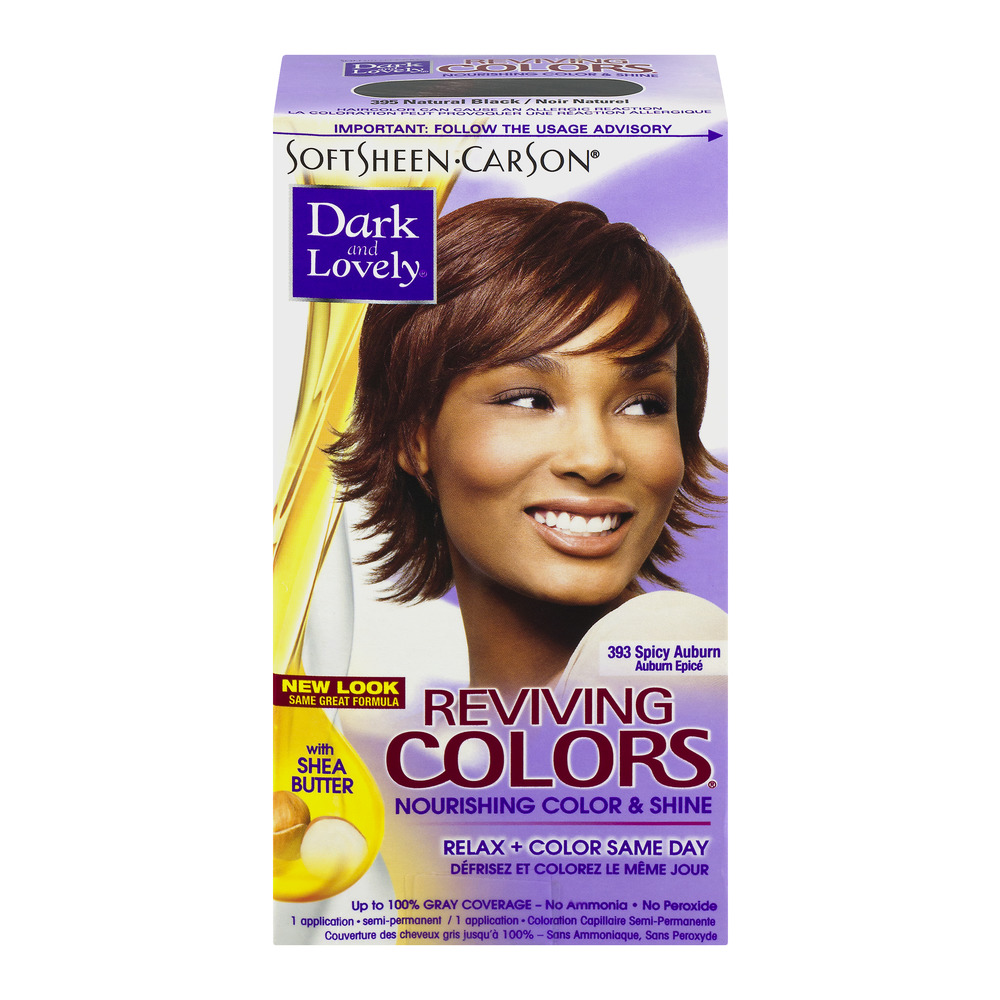 SoftSheen-Carson Dark and Lovely Reviving Colors Nourishing Color & Shine