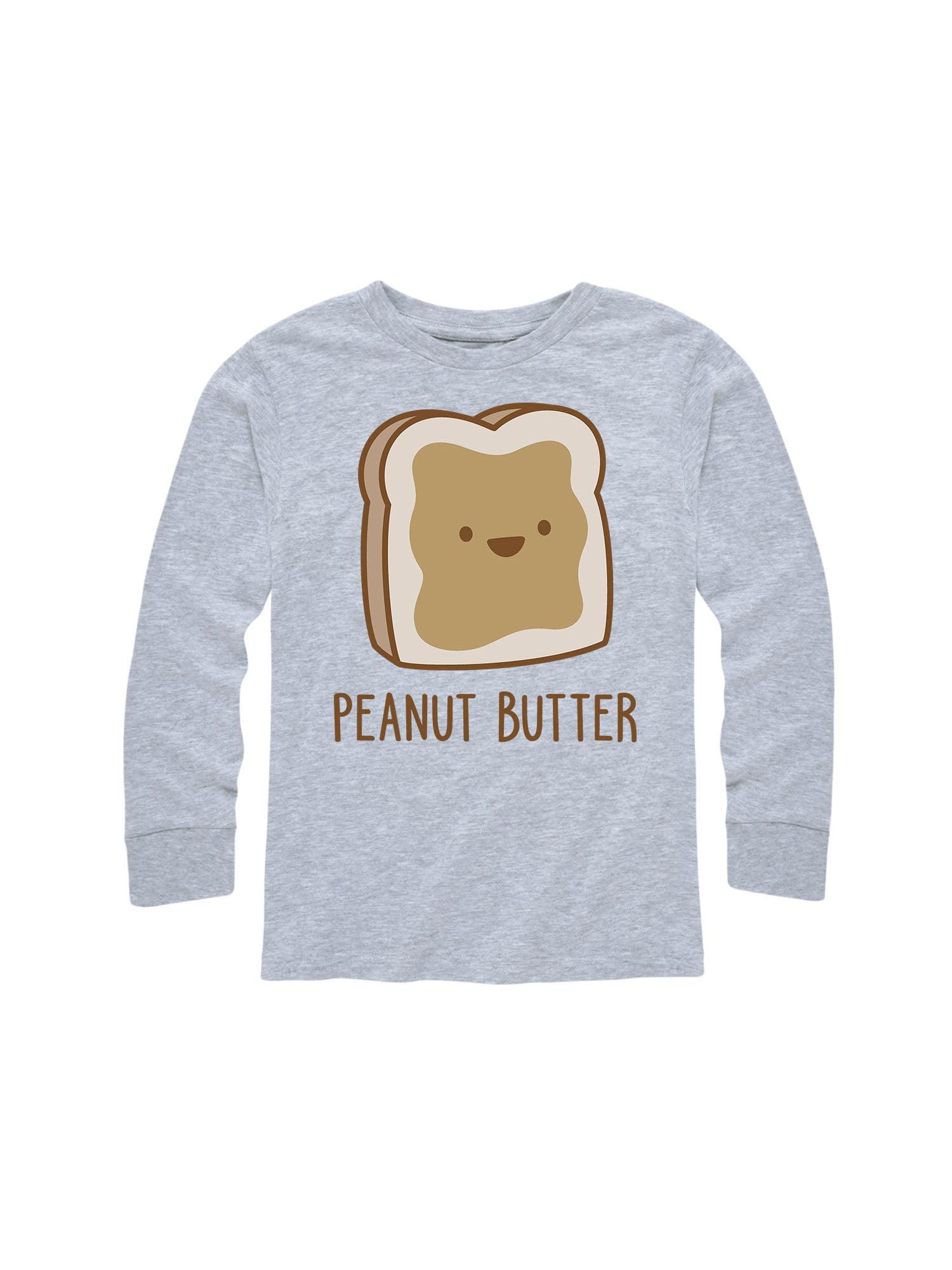 Twins Peanut Butter  - Toddler Long Sleeve Tee