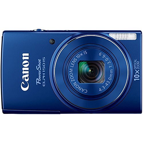 Canon PowerShot 150 IS 20 Megapixel Compact Camera - Blue