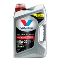 Valvoline Full Synthetic High Mileage with MaxLife Technology SAE 5W-30 Motor Oil, Easy-Pour 5 Quart