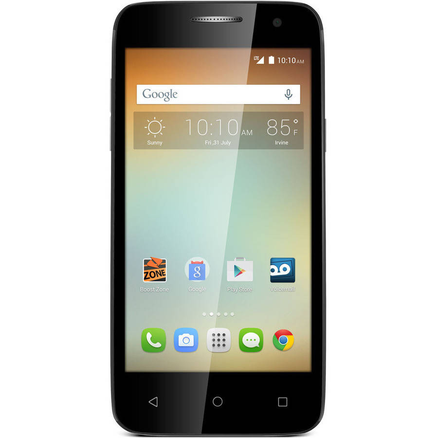 Virgin Mobile Alcatel Elevate Prepaid Smartphone