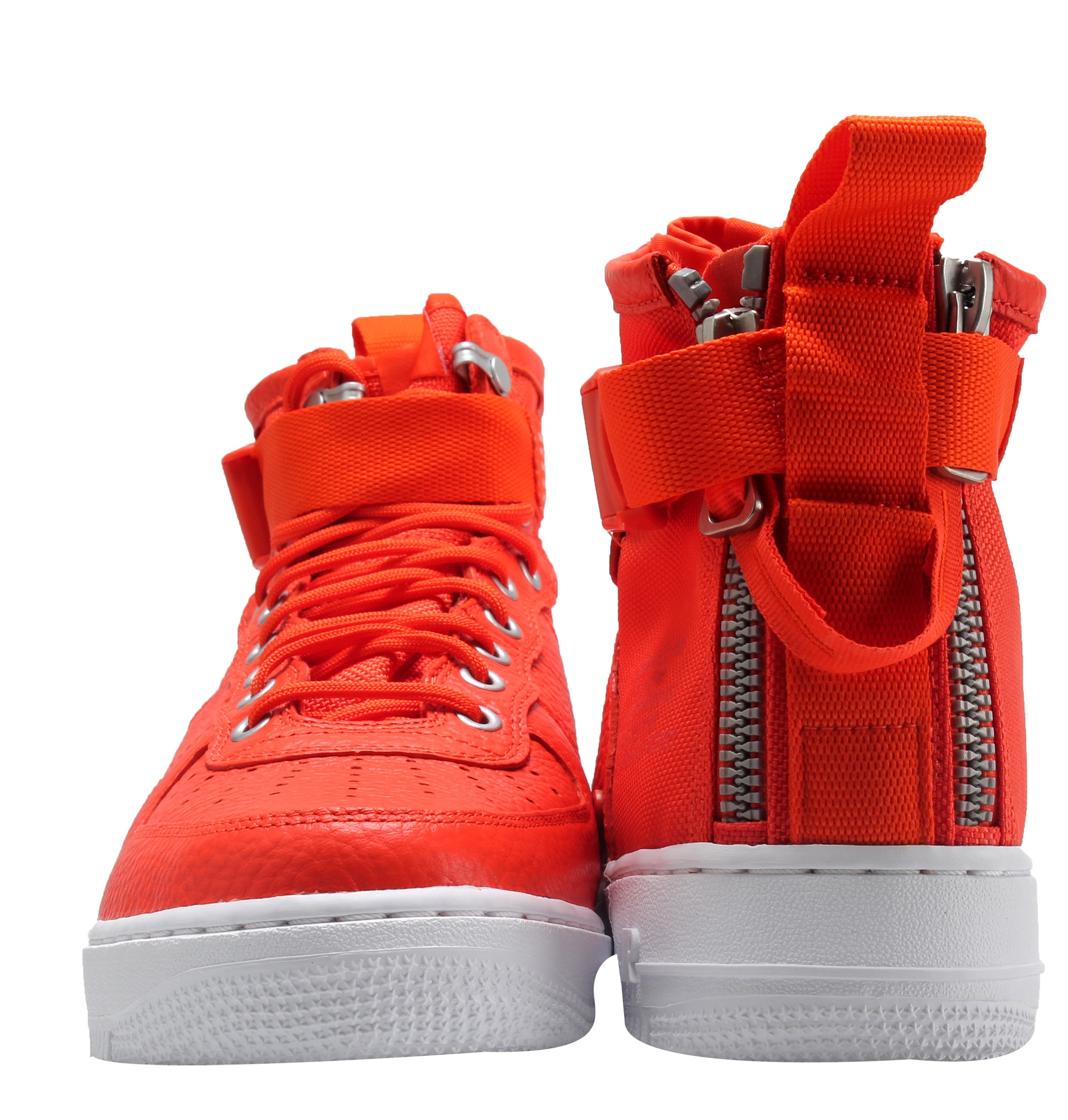 Mens Nike Special Field Air Force 1 Mid Team Orange White 917753-800