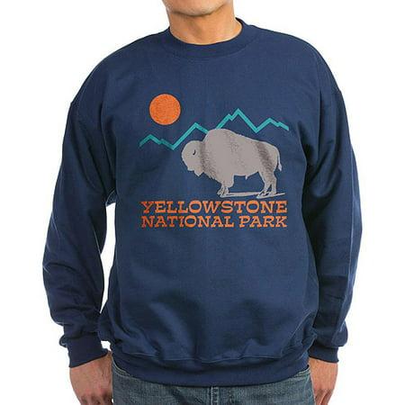 Classic Crewneck Sweatshirt - Yellowstone National Park - Classic Crew Neck Sweatshirt