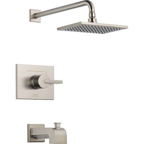 Delta Vero Single Function Pressure Balanced Bath and Shower Trim Less Rough-in, Available in Various Colors